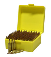 Max-Comp Plastic Rifle Ammo Box - 100 Round - .204, .222, .223 etc