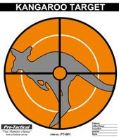 kangaroo paper shooting target