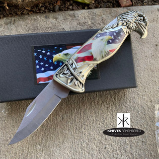 EAGLE COLLECTION Knife w/ Collection Box - Personalized Engraved