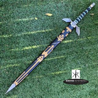 Legend of Zelda Dark Master Sword Skyward Limited Edition Deluxe Replica - CUSTOM ENGRAVED