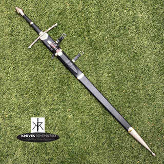 LOTR Lord of the Rings King of Gondor Aragorn Strider Ranger Sword with Scabbard - CUSTOM ENGRAVED