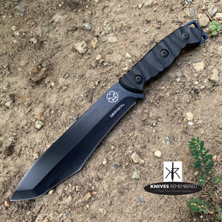SHARP Fixed Blade JUNGLE KNIFE w/ Sheath - CUSTOM ENGRAVED