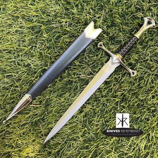 ANDURIL Dagger Medieval Knight Warrior's - CUSTOM ENGRAVED