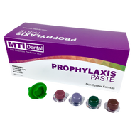 Assorted Prophylaxis Paste is a Perfect Compliment to MTI Dental's Prophy Polishing Handpieces and Disposable Prophy AirLite Angles