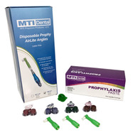 Disposable Prophy AirLite Angles + Prophylaxis Paste (5000 Count Each) Combos
