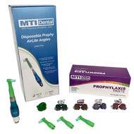Triple Pack of Quick-Disconnect Master Prophy AirLite Polisher + 1800CT. Prophylaxis Paste + 1800CT. Disposable Prophy Angles (Combo Pack). Color of Prophy Polishing Handpiece Will Differ Based on the Prophy Handpiece Color you Select.