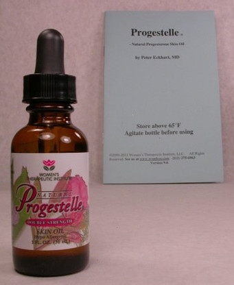 Progestelle Progesterone Oil Purer than Progesterone Cream, Natural, Bioidentical