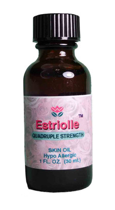 Estriol for Vaginal Tissue Support.  Change of Life Support.  Each Bottle contains 80 mg of Estriol.