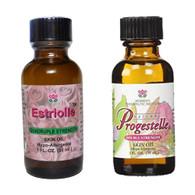 Estriolle and Progestelle.