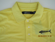 Wakooda Men's Shorecrest Polo  -  Snap Dragon Yellow