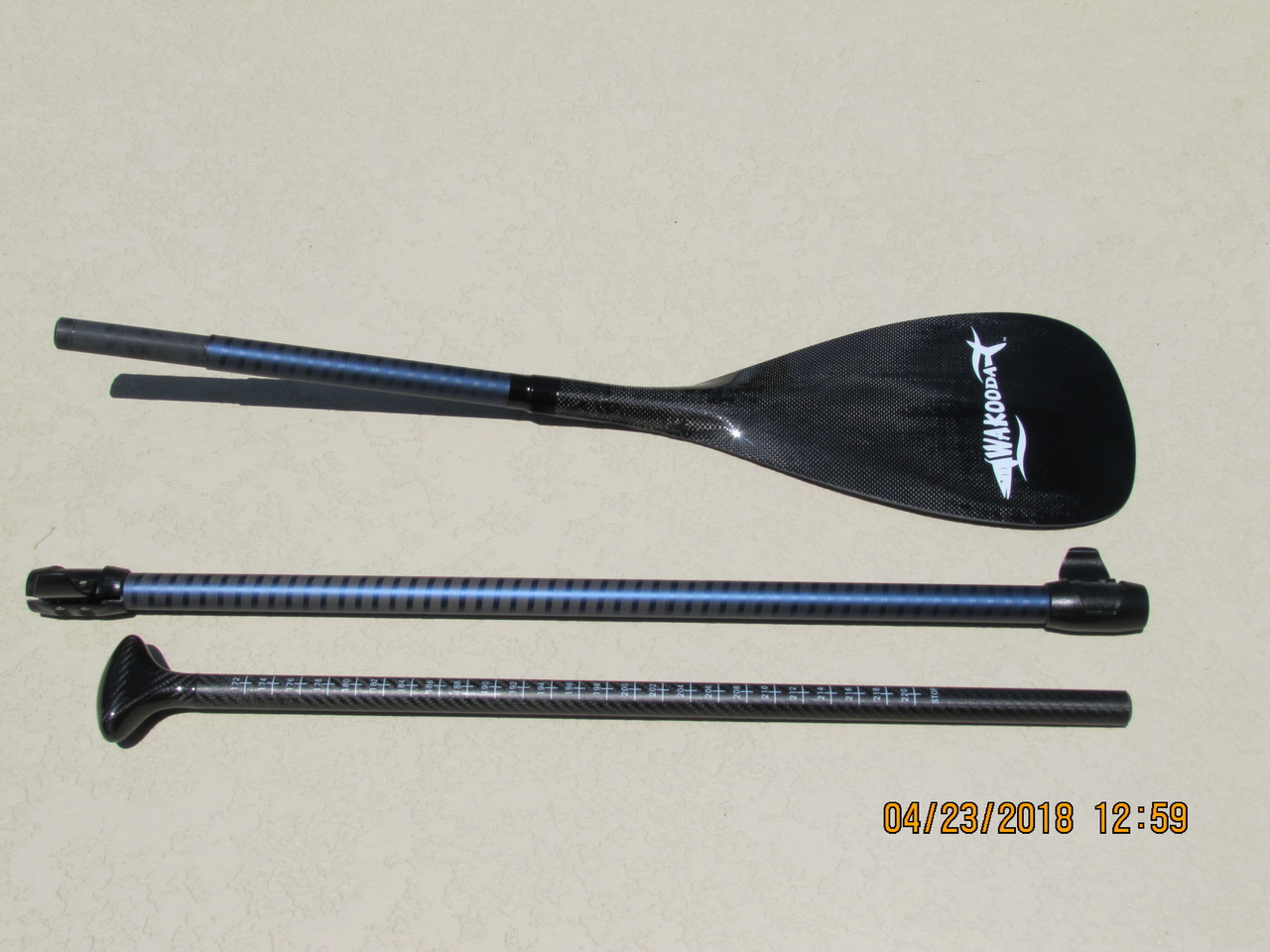 e8bf225f7 Three pieces to this adjustable paddle allow you to adjust the paddle from  68