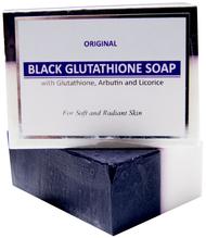 New Glutathione & Arbutin/Licorice Black & White Soap 120g Whitening & Bleaching Beauty Bar