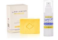 Relumins Professional Acne Clear Soap + Ivory Caps Skin Mega Strength Cream