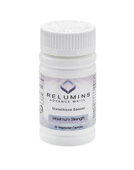 Authentic Relumins Advanced White Glutathione Booster - Max Strength Increase Effectiveness of Glutathione For Optimal Whitening Results