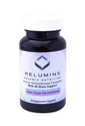 NEW Relumins Advanced White Active Glutathione Complex -Oral Whitening Formula Capsules with 6X Boosters- Whitens, repairs & rejuvenates skin
