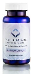 Authentic Relumins Advanced White Oral Whitening Formula Capsules