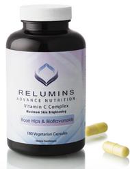 Relumins Advance Vitamin C - MAX Skin Whitening Complex With Rose Hips & Bioflavinoids