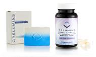 Relumins Whitening Set - Advance White Oral Glutathione & Stem Cell Intensive Repair Soap
