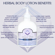 NEW Authentic Relumins Advance White Natural Antioxidant Herbal Body Lotion - Large 500ml Bottle!