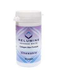 Relumins Advance White Collagen MAX Formula- Chewable - Firms, Whitens, repairs & rejuvenates skin