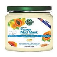 Hollywood Style White Glow Papaya Mud Mask - Refines, Purifies, & Exfoliates - NEW LARGER SIZE!