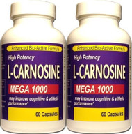 MEGA STRENGTH L-CARNOSINE 1000MG 100% REJUVENATION VIBRANT SKIN