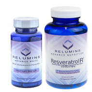 Relumins Skin Whitening Advanced White Oral Anti-Aging Resveratrol R3 Nutrition Stack