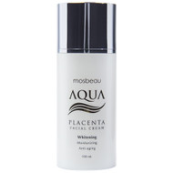 Mosbeau Aqua Placenta Skin Whitening Facial Cream 100ml - Whitening, Moisturizing & Anti Aging - New Formula