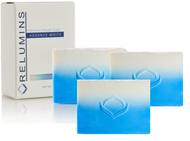 Special Combo Pack of 3 : Authentic Relumins Glycolic Max Soap AHA-Mild Peel w/ Aloe - Professional Spa Formula