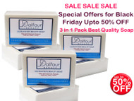 Combo Deals (Pack of 3) - NEW Dalfour Beauty Ultrawhite Beauty Soap - Great for All Skin Types!
