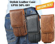Best Combo Offer Pack of 3 in 1 for iPhone 6 / 6S Phone Case : Universal Waist Belt Clip Leather Case - Coffee,Black,Brown
