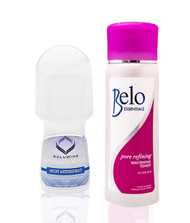Relumins Advance White Roll on & Belo Essentials Lightening Toner -100ml