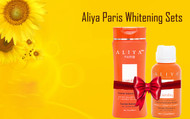 Aliya Paris Combo Pack Set of Carotiq Luxurious Skin Whitening & Anti-Aging Carrot Intense Lotion  16oz & Serum for Bright Glowing Skin - 30 ml
