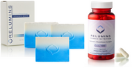 Relumins Skin Whitening Advanced Soap with Intensive Skin Repair + Nutrition Gluta 1000 Cellular Protection 60 Capsules Exclusive Combo (Pack of 3)