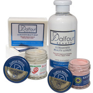 Dalfour beauty Premium Face & Body Lightening Set
