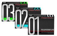 FrontRow 01, 02, & 03 Skin Whitening Soaps With Glutathione, Kojic Acids & Skin Vitamins