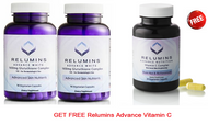 Buy 2 RELUMINS Advance White 1650MG GLUTATHIONE COMPLEX – 15X FOR DERMATOLOGIST USE - GET FREE Relumins Advance Vitamin C