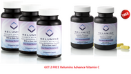 Buy 3- NEW Relumins Advance White Active Glutathione Complex -Oral Whitening Formula Capsules with 6X Boosters- Whitens, repairs & rejuvenates skin - GET 2 FREE Relumins Advance Vitamin C