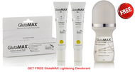 Buy 2 GlutaMAX Whiteneing Underarm and Inner Thigh Ultimate Skin Lightening Cream - 30gm-GET FREE GlutaMAX Lightening Deodorant - 50ml
