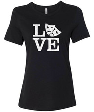 Love Theatre Women's Relaxed Fit T-Shirt