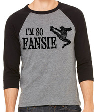 I'm so Fansie - Newsies t-shirt - 3/4 sleeve baseball jersey