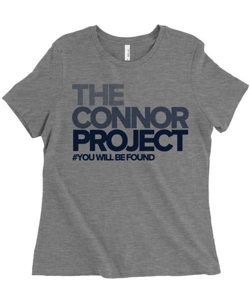 The Connor Project - Dear Evan Hansen - Women's Relaxed Fit Triblend T-Shirt - Light Grey