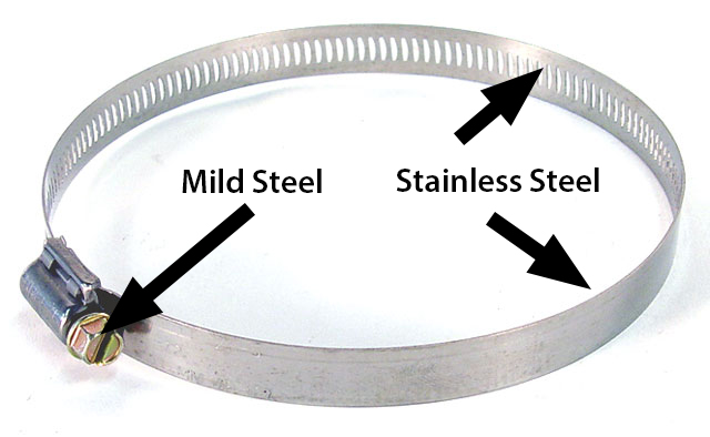 Hose Clamp - OEM - All Stainless 010 Mini Ext. Tang ...