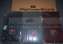 Floor Mats (Set of 4)  w/Turbo T logo - on 2 front mats - 1987