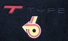 Floor Mats w/TType logo #63W- 1984-1987