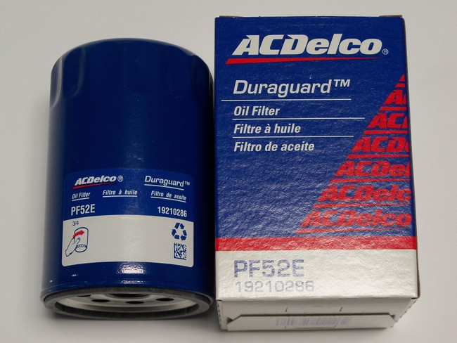 AC Delco Oil Filter PF52