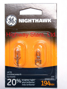 Bulbs - Nighthawk - Marker/Taillight Lamps GE 194NH