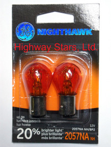 Bulbs - Nighthawk - Front turn signal lamps GE 2057NANH