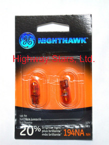 Bulbs - Nighthawk - Front Parking Lamps GE 194NANH