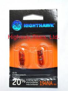 Bulbs - Nighthawk - Front Parking Lamps GE 194NANH